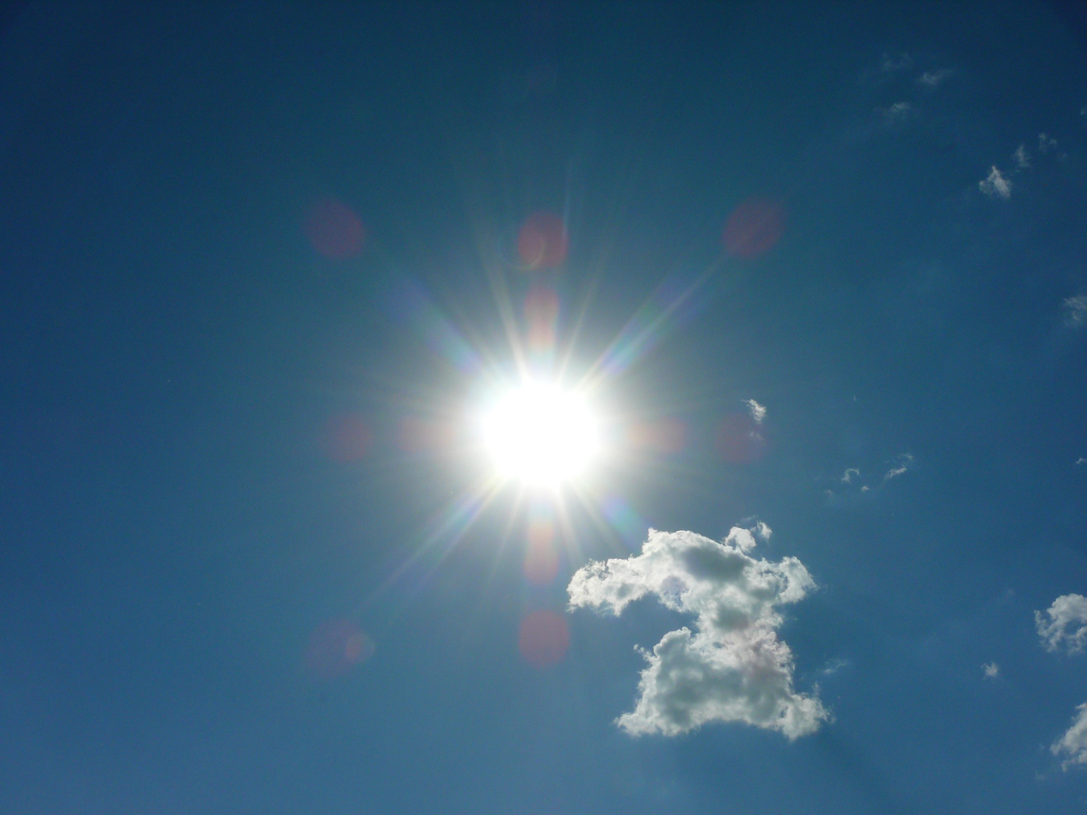 Фото сонце опівдні 15 фотография