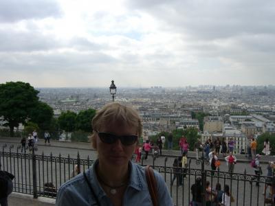 Вид на Париж с Монмартра. (2914 kb)